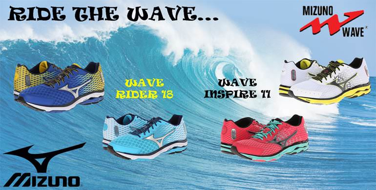 Ride the wave. Wave Rider 18. Wave Inspire 11.