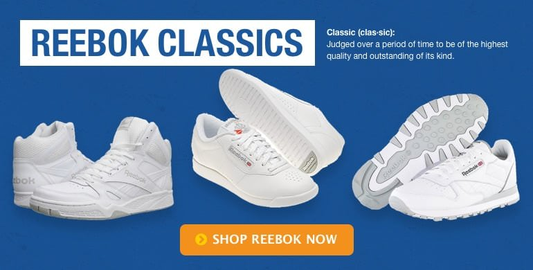Reebok Classics. Judged over a period of time to be of the highest quality. Shop Reebok Classics.