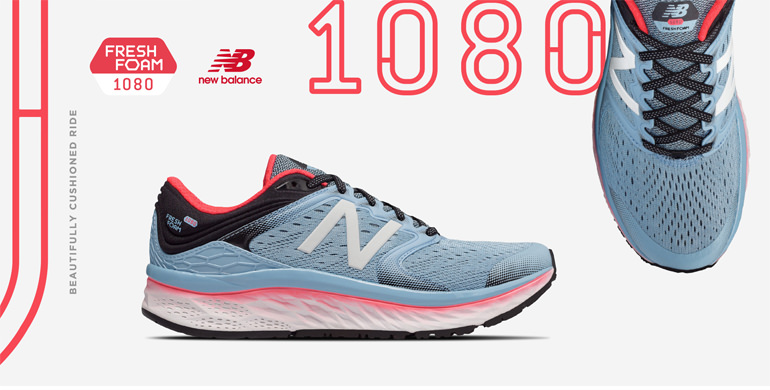 New Balance 1080. Beautifully cushioned ride. FreshFoam 1080
