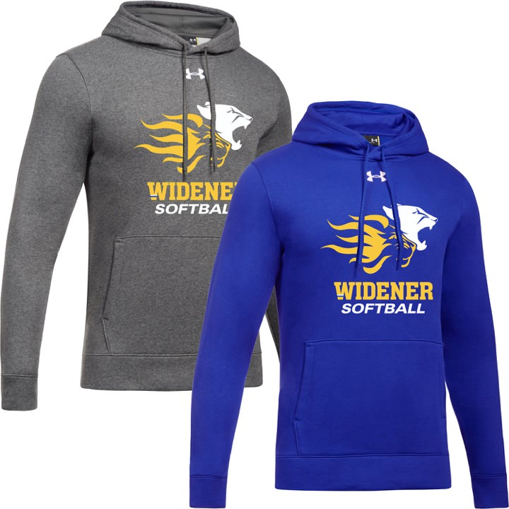 Widener Softball Under Armour Hoodies