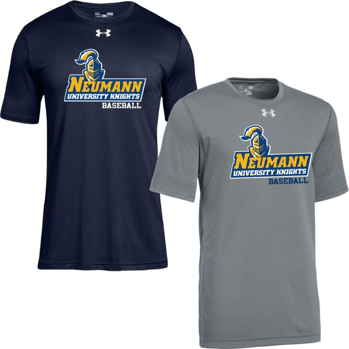 Neumann University Knights Baseball Under Armour Performance Tees T-Shirts