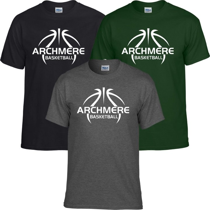 Archmere Basketball Gildan Tee T-Shirt