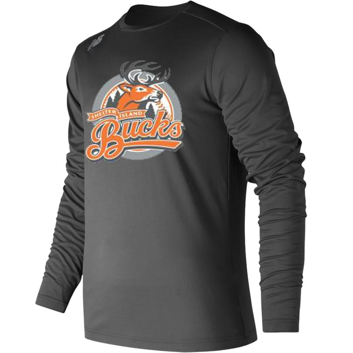 Shelter Island Bucks New Balance Long Sleeve Performance Tee T-Shirt