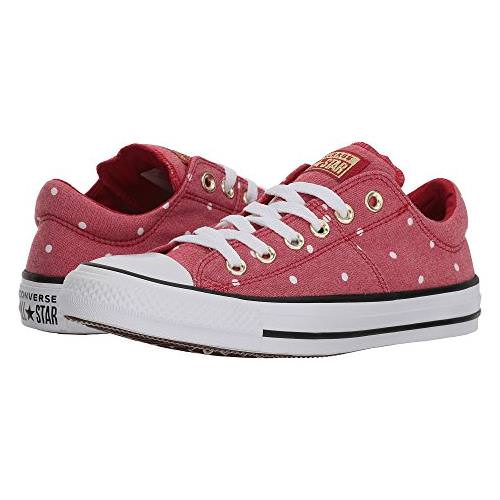 343481a5c2c505 Converse Chuck Taylor Women s All Star Madison Ox- Mini Dots Red ...