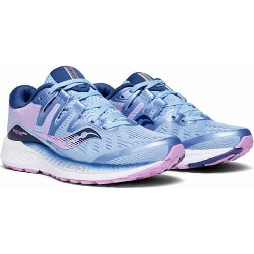 Saucony Ride ISO Women's Running Wide D Blue Navy Purple S10445-1