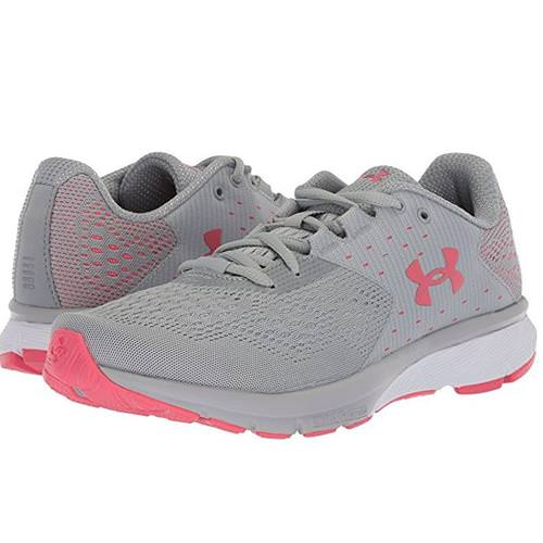 11a05ff77d Under Armour Charged Rebel Womens Running Shoe in Overcast Gray, Success  1298670-102