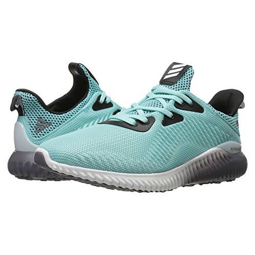 huge selection of 2dda0 97d0f Adidas Alphabounce 1 Women's Running Shoe Clear Aqua, White, Trace Grey  B39429