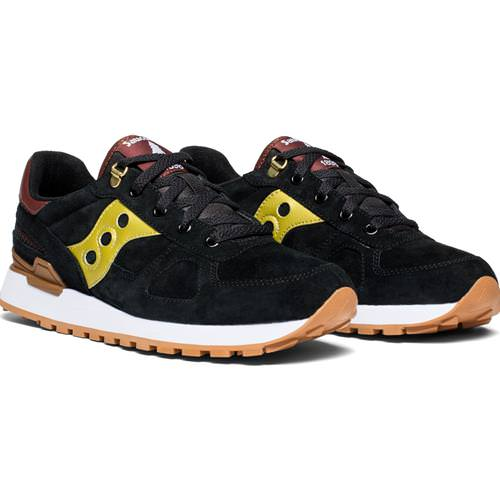 pretty nice c99fb 69811 Saucony Shadow Original Suede Ranger Black, Gold for Men S70420-1