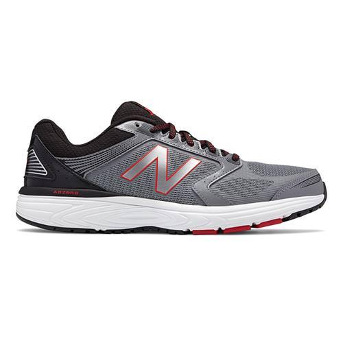 New Balance 560v7 Men's Running Wide 4E Silver Black Red M560LS7