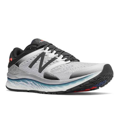 c7d4b597a14469 New Balance Fresh Foam M1080 Men's Running Shoe White, Black, North Sea  M1080WB8