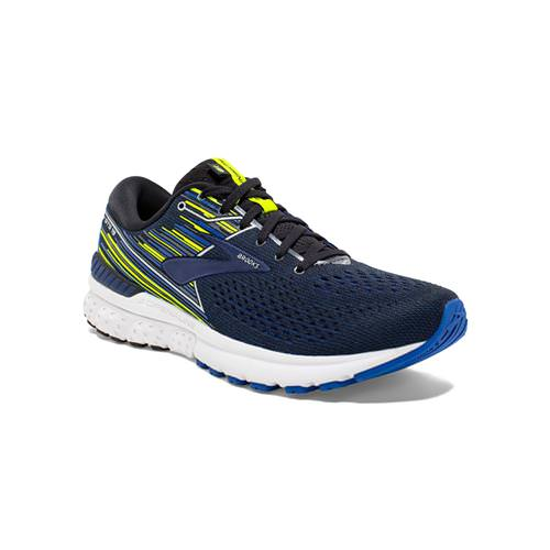 Brooks Adrenaline GTS 19 Men's Running Black Blue Nightlife 1102941D069