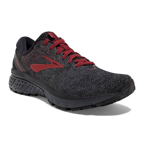 Brooks Ghost 11 Men's Running Black White Merlot 1102881D037