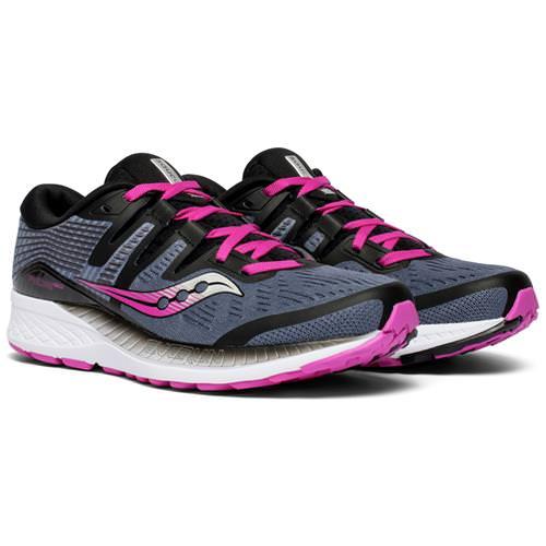 Saucony Ride ISO Women's Running Slate Purple S10444-4