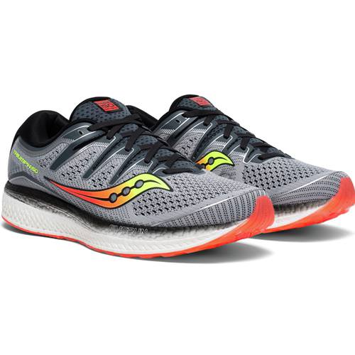 Saucony Triumph ISO 5 Men's WIDE 2E Grey Black S20463-1
