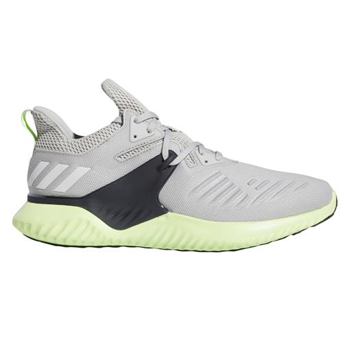 Adidas Alphabounce Beyond 2 Men's Running Shoes Grey White Hi-Res Yellow BD7096