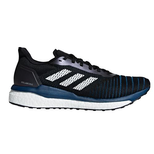 Adidas Solar Drive Men's Running Shoes Black White Legend Marine D97442