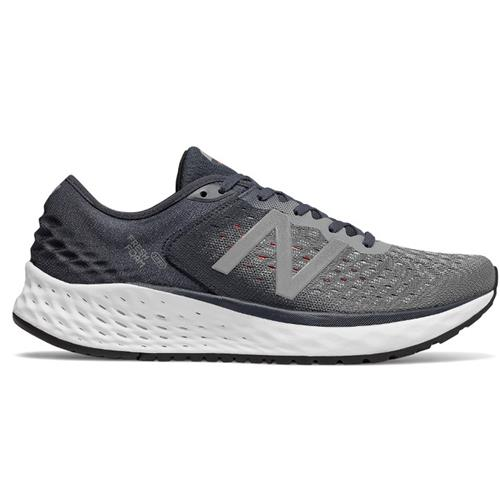New Balance Fresh Foam 1080v9 Men's Wide EE Running Shoe Gunmetal Outerspace Energy Red M1080GR9EE