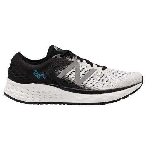 New Balance Fresh Foam 1080v9 Men's Running Shoe White Black Deep Ozone Blue M1080WB9