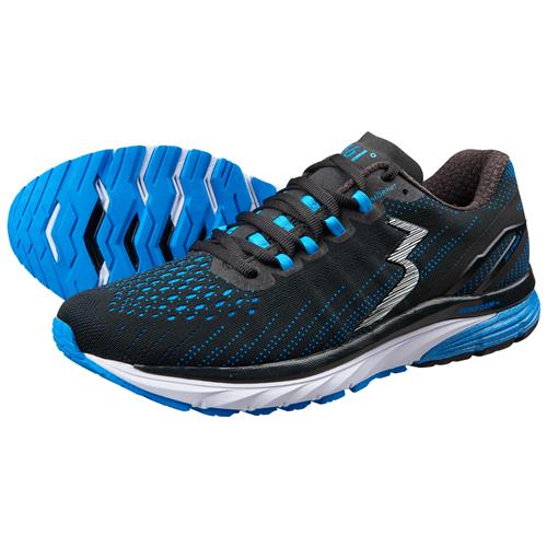 361 Degrees Strata 3 Men's Running Shoes Black Jolt Y901-0999