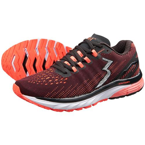 361 Degrees Strata 3 Women's Running Shoe Black Hazard Y951-0993