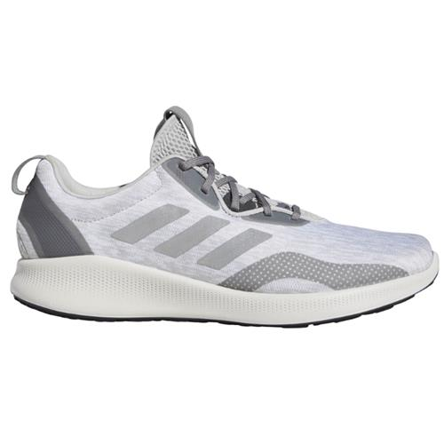 Adidas Purebounce + Street Men's Running Shoes Grey Silver Metallic Carbon BC1037