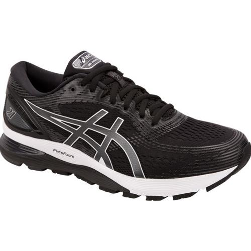 Asics Gel Nimbus 21 Men's Running Shoe Black Dark Grey 1011A169 001