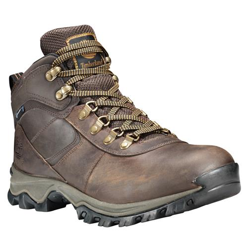Timberland Mens Mt. Maddsen Mid Waterproof Hiker Dark Brown 2730R242