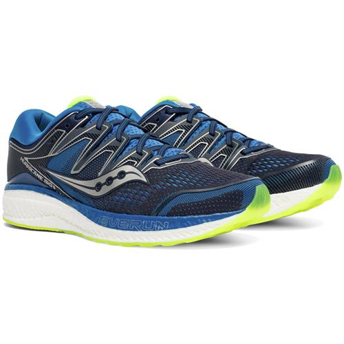 Saucony Hurricane ISO 5 Men's Navy Citron S20460-2