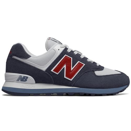 New Balance 574 Men's Classic Navy, Chili Pepper ML574ESC