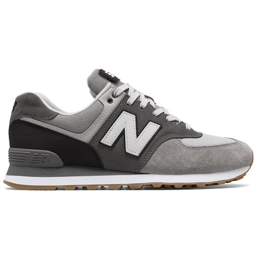 sneakers for cheap 2e195 5b9a6 New Balance 574 Military Patch Men's Marblehead, Black ML574MLB