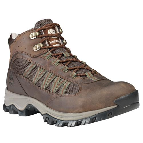 Timberland Mens Mt. Maddsen Lite Mid Waterproof Hiker Dark Brown A1WL7242