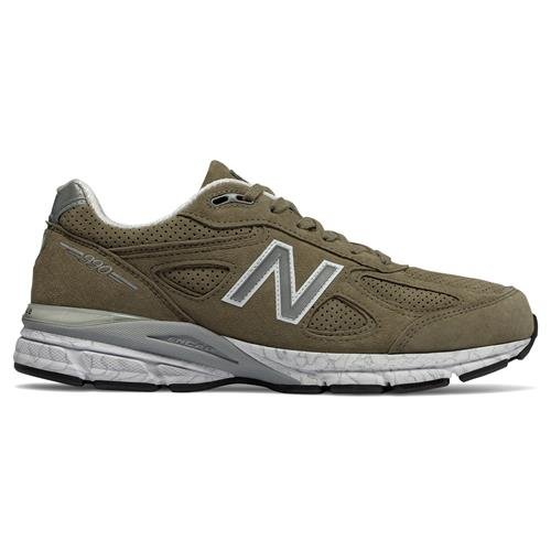 low priced 453fb cca27 New Balance 990v4 Men's Running Shoe Covert Green M990CG4