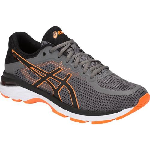 asics mens support running trainers