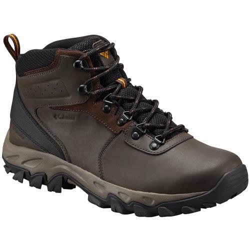 Columbia Newton Ridge Plus II Waterproof Wide EE Cordovan Squash Men's Hiking Boot 1594732 231