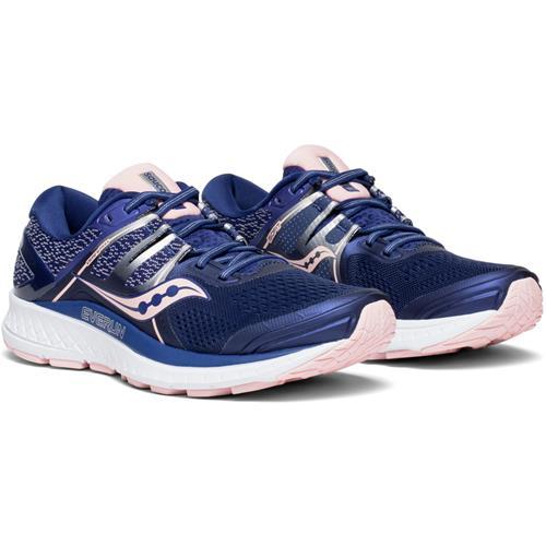 Saucony Omni ISO Women's Running Shoe Navy Blush S10442-2