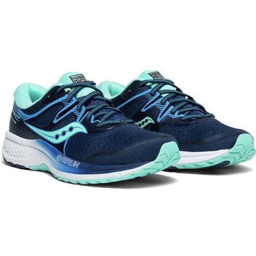 Saucony Omni ISO 2 Women's Running Shoe Navy Aqua S10511-2