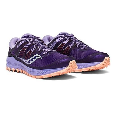 Saucony Peregrine ISO Women's Trail Purple Peach S10483-37