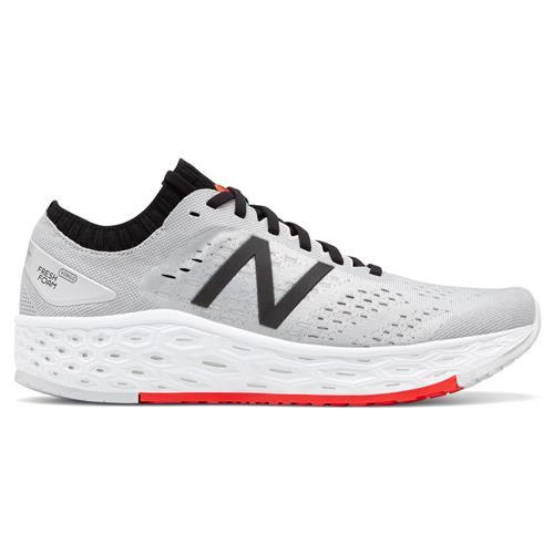 New Balance Fresh Foam Vongo v4 Men's Running Shoe Light Aluminum Black Energy Red MVNGOWG4