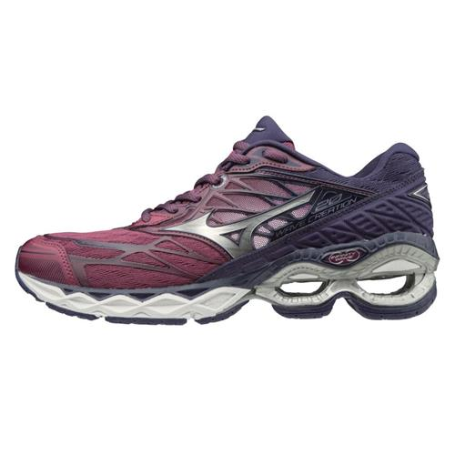 Mizuno Wave Creation 20 Women's Running Purple Potion-Silver 411061.6573