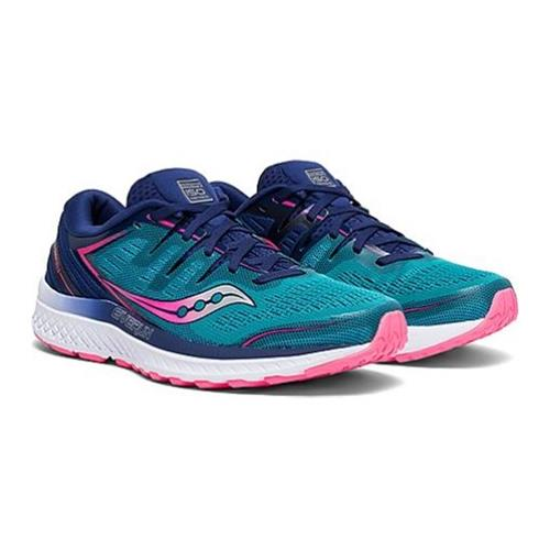 Saucony Guide ISO 2 Women's Running Teal Pink S10464-3