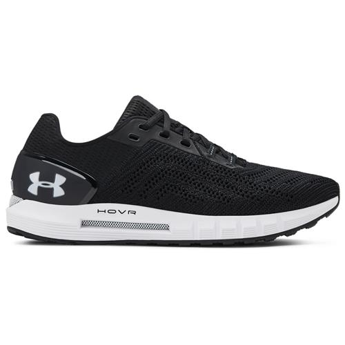 Under Armour HOVR Sonic 2 Mens Running Shoe in Black White 3021586-002