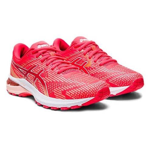 Asics GT-2000 8 Women's Running Shoe Diva Pink White 1012A591 700