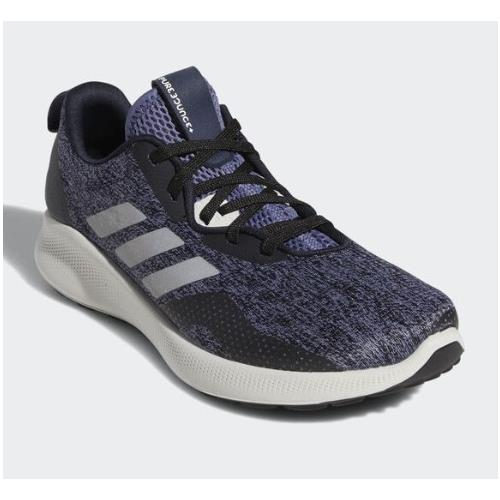 Adidas Purebounce + Street Women's Running Shoe Legend Ink Silver Metallic Raw Indigo F34231