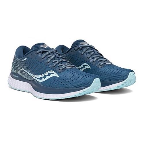 Saucony Guide 13 Wide D Women's Running Blue Aqua S10549-25