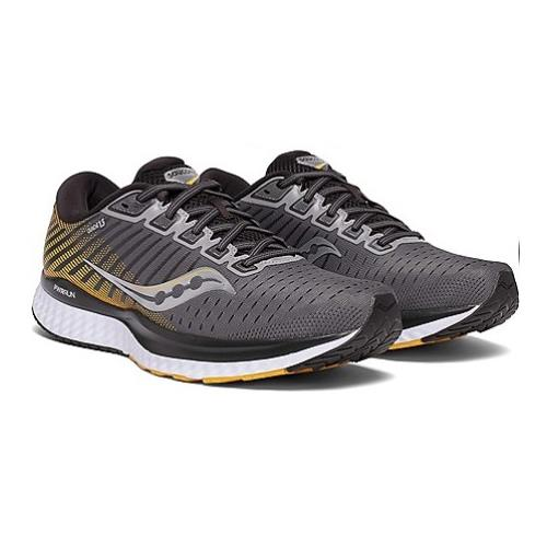 Saucony Guide 13 Men's Running Grey Yellow S20548-45