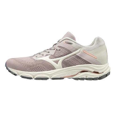 Mizuno Wave Inspire 16 Women's Running Shoes Cloud Grey-Snow White 411162.9C0D