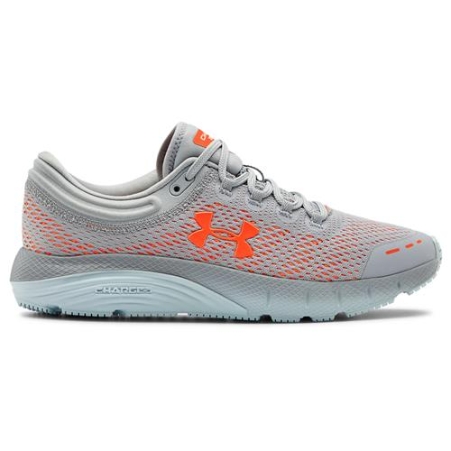 Under Armour Charged Bandit 5 Womens Running Shoe in Mod Gray Rift Blue 3021964-102