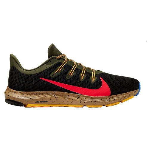 Nike Quest 2 SE Men's Black Bright Crimson Green 6185 003