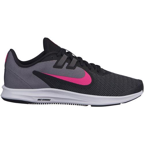Nike Downshifter 9 Women's Running Black Laser Fuchsia Dark Gray AQ7486-002