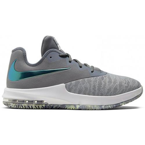 Nike Air Max Infuriate III Low Men's Basketball Grey Platinum AJ5898-008